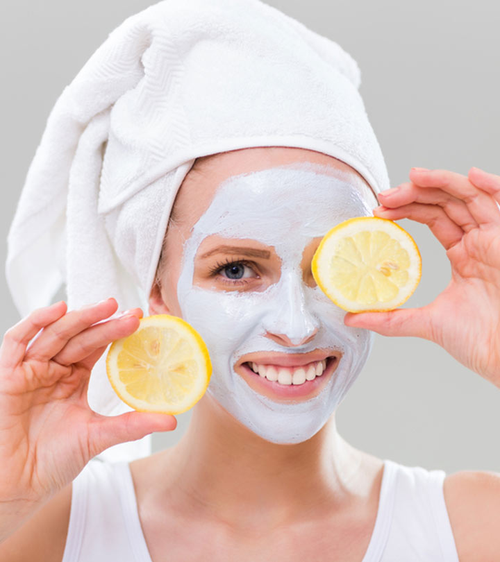 त्वचा में निखार लाने के लिए नींबू के फेस पैक – Lemon Face Pack For Fair Skin in Hindi
