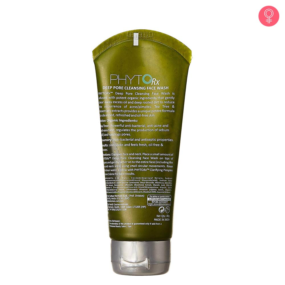 Lotus Professional Phyto Rx Deep Pore Cleansing Face Wash