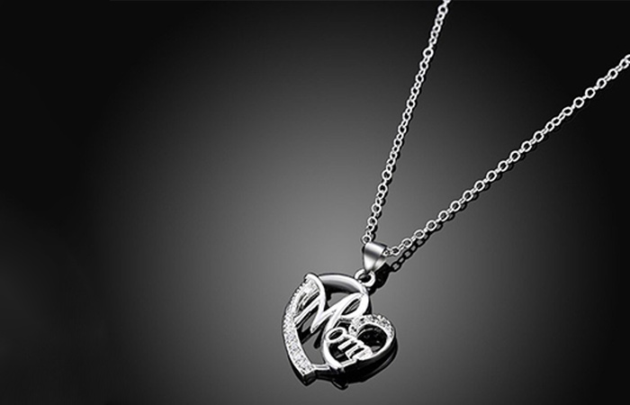 Love shaped necklace
