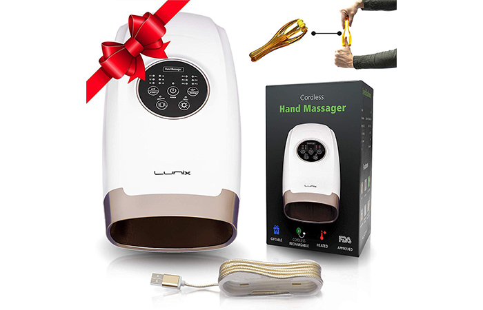 Lunix LX3 Cordless Electric Hand Massager