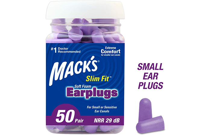 Mack's Slim Fit Soft Foam Earplugs