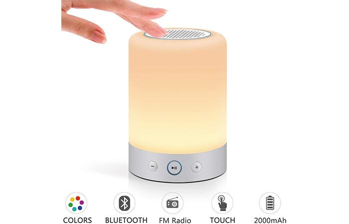 Marrado Bedside Lamp With Bluetooth Speaker