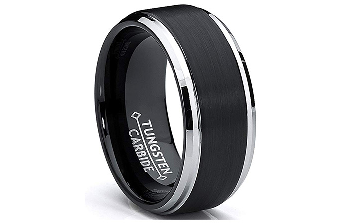 Metal Masters Co. Tungsten Ring For Men