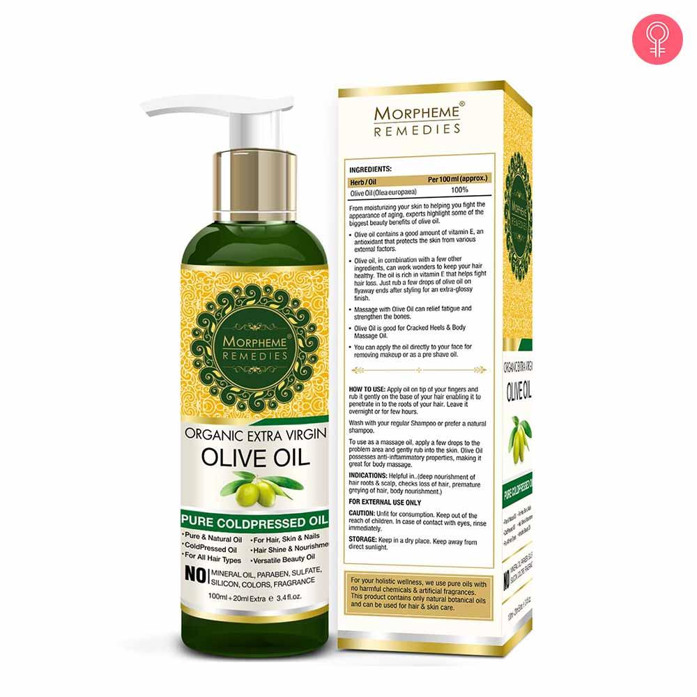 Morpheme Remedies Organic Extra Virgin Cold Pressed Olive Oil
