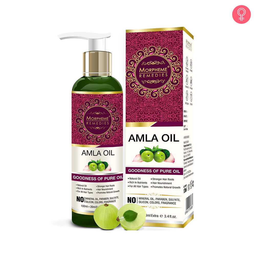 Morpheme Remedies Pure Amla Oil