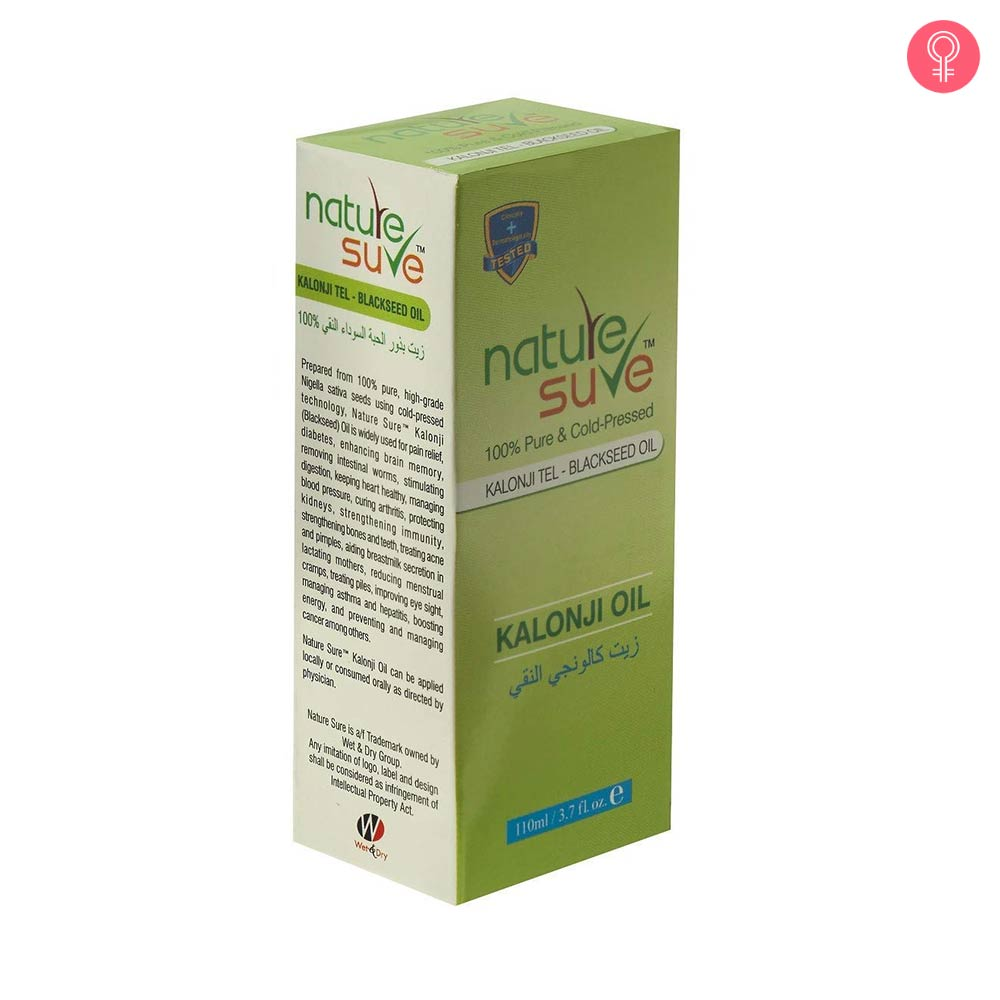 Nature Sure Kalonji Oil – Black Seed Oil