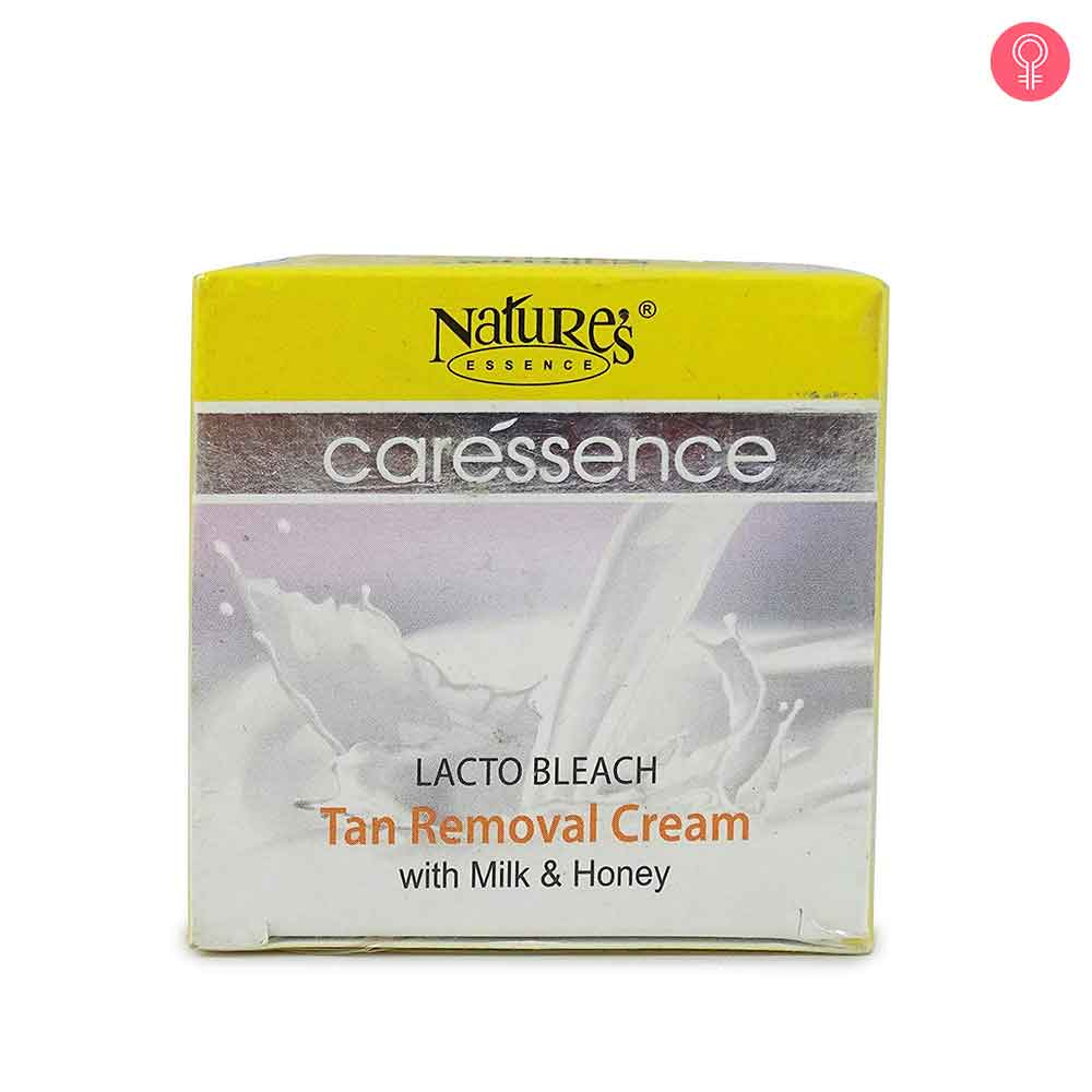 Nature's Essence Caressence Lacto Bleach Tan Removal Cream