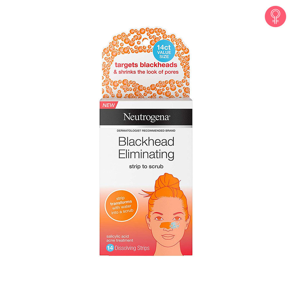 Neutrogena Blackhead Eliminating Nose Strip to Scrub