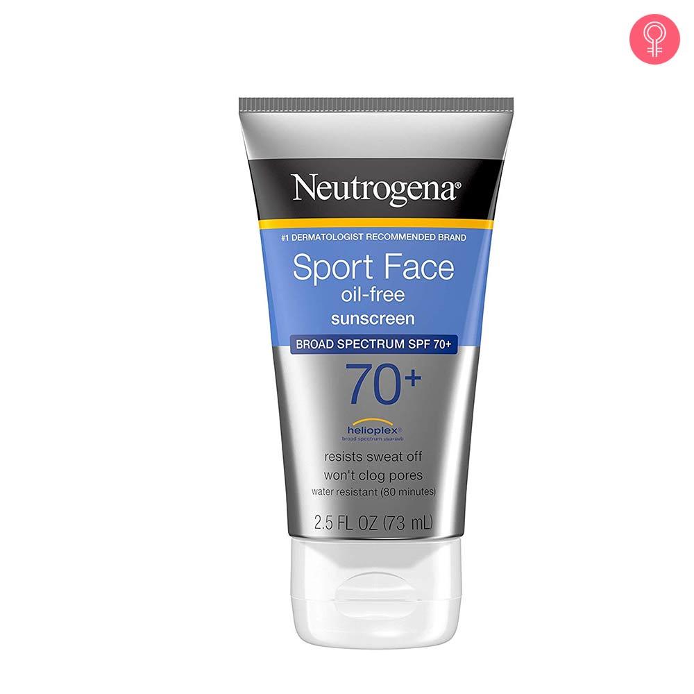 Neutrogena Sport Face Oil-Free Lotion Sunscreen SPF 70+