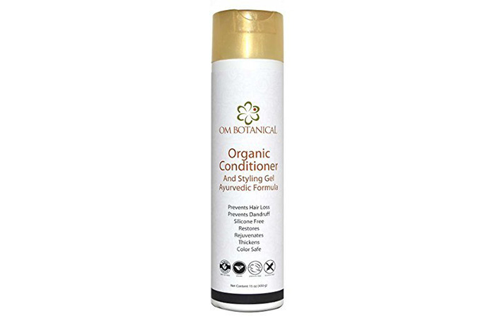 Om Botanical Organic Conditioner And Styling Gel