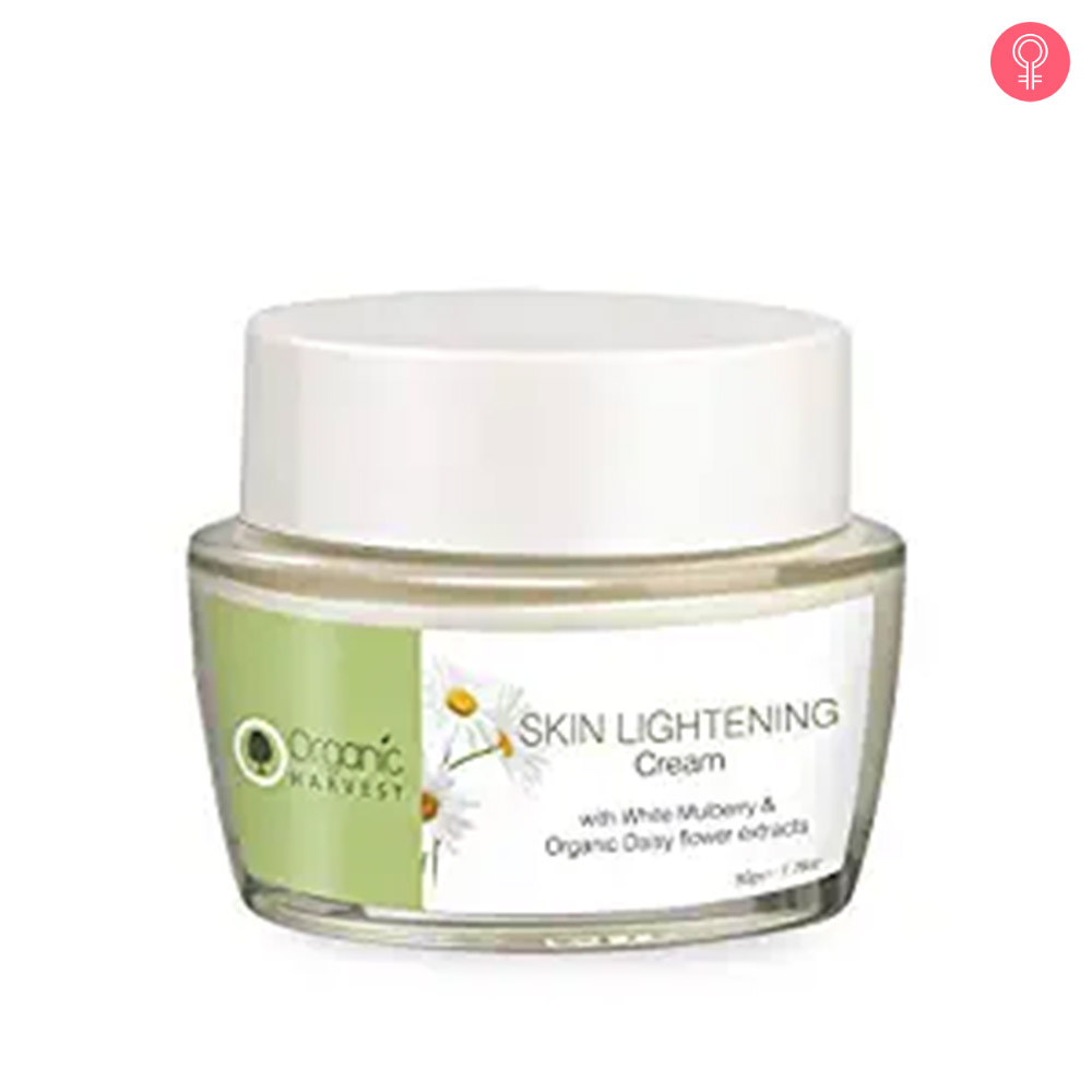 Organic Harvest Skin Lightening Massage Cream
