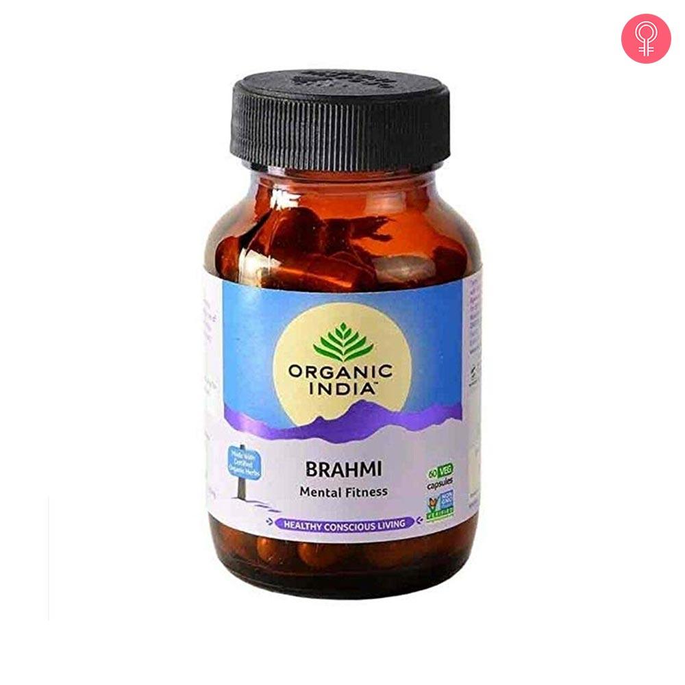 Organic India Brahmi Capsules