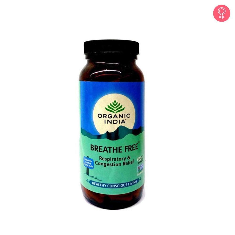Organic India Breathe Free Capsules