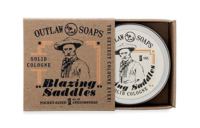 Outlaw Soaps Blazing Saddles Solid Cologne