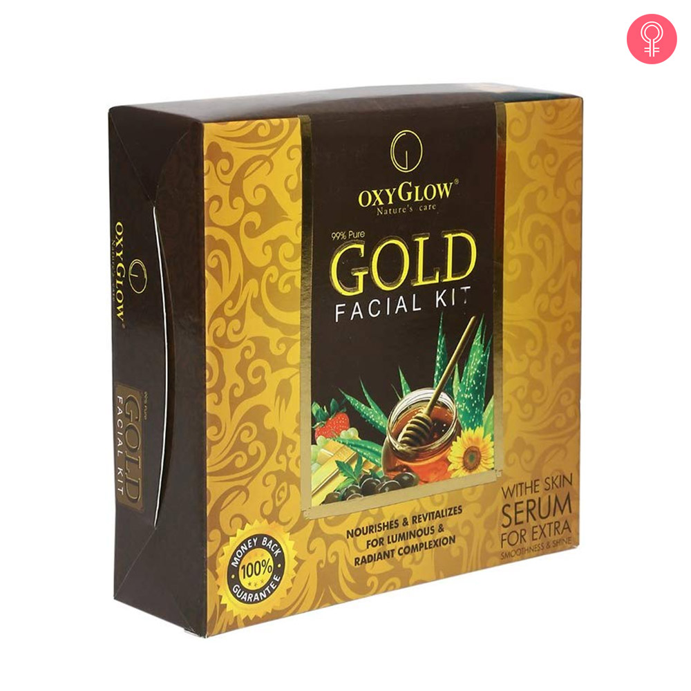 Oxyglow Gold Facial Kit-0