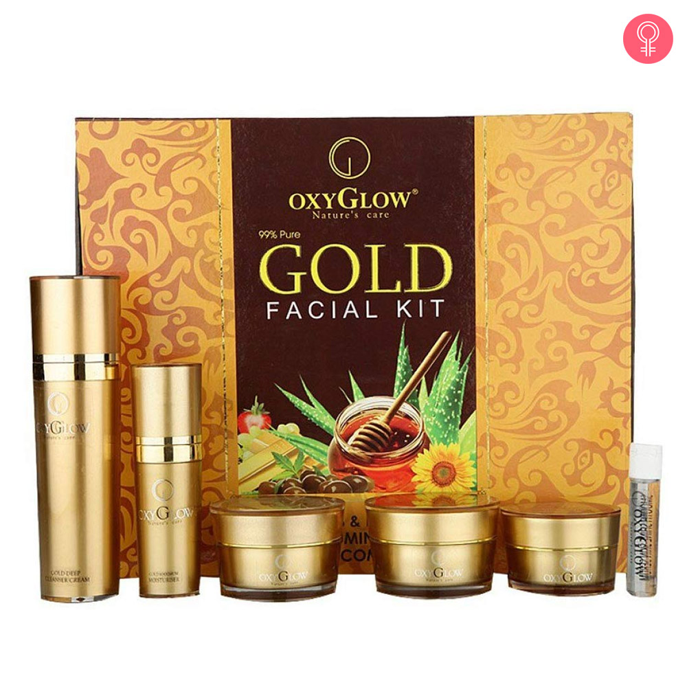 Oxyglow Gold Facial Kit-1