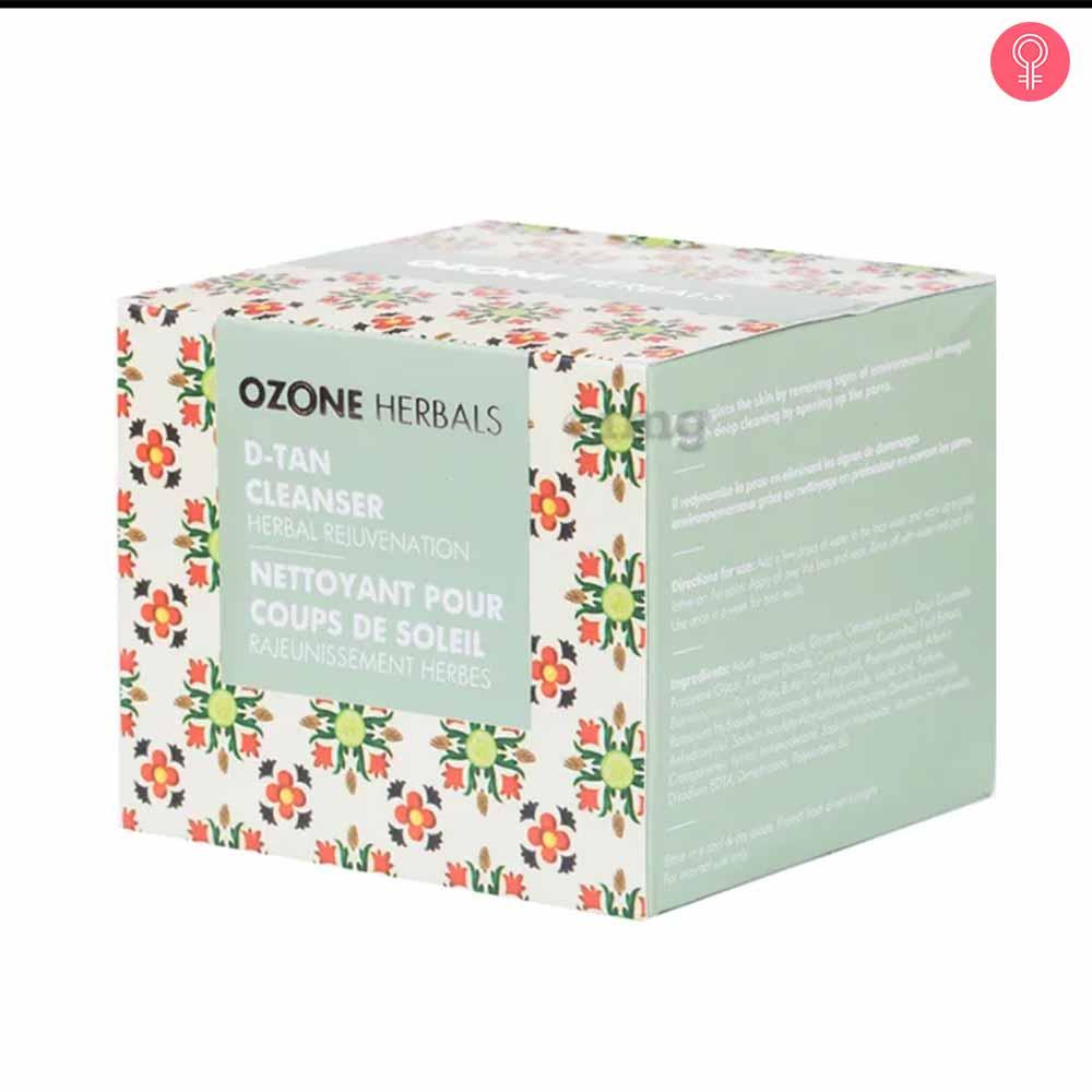 Ozone Herbals D-Tan Cleanser
