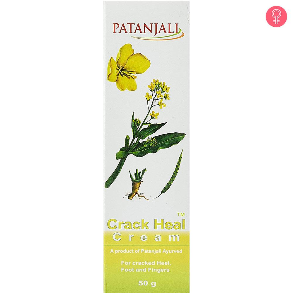 Patanjali Crack Heal Cream