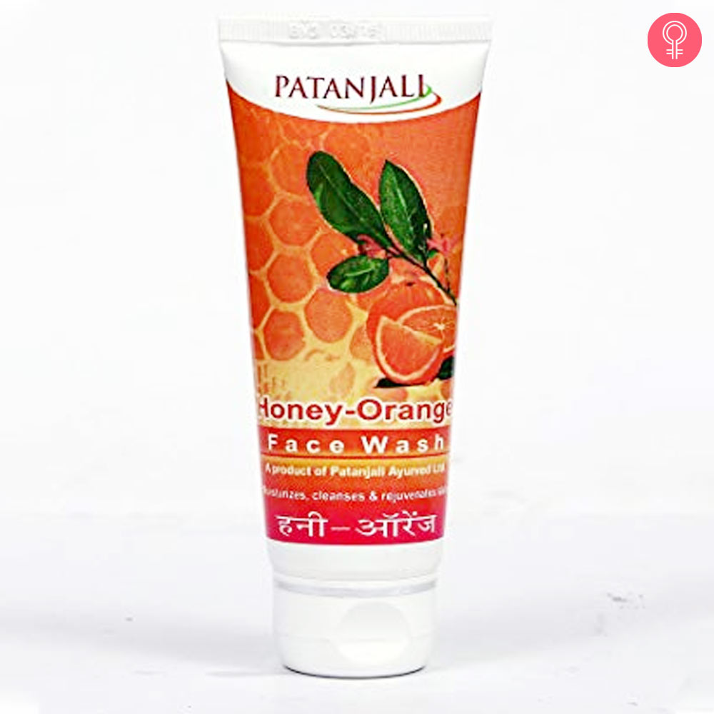Patanjali Honey Orange Face Wash