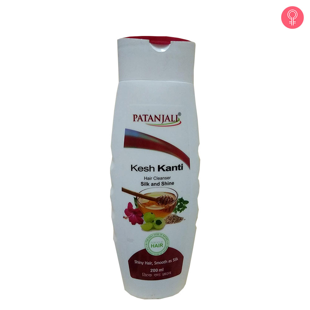 Patanjali Kesh Kanti Silk And Shine Hair Cleanser