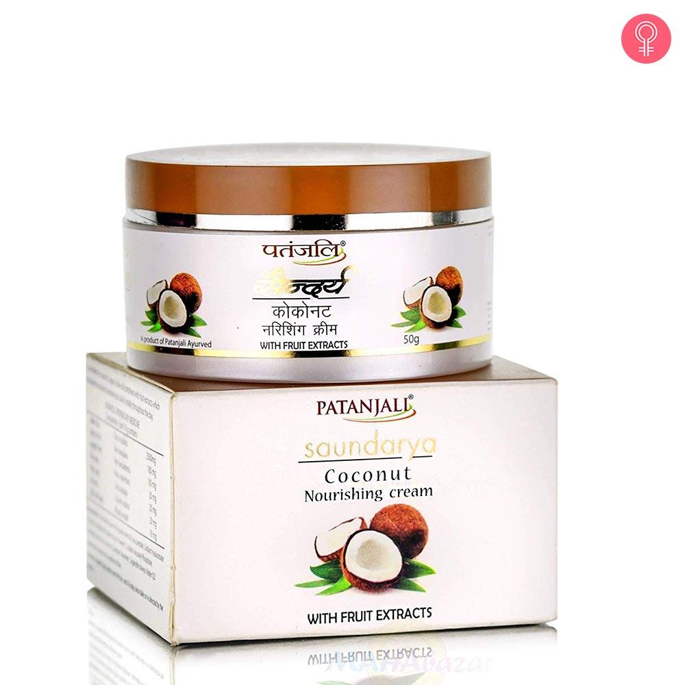 Patanjali Saundarya Coconut Nourishing Cream