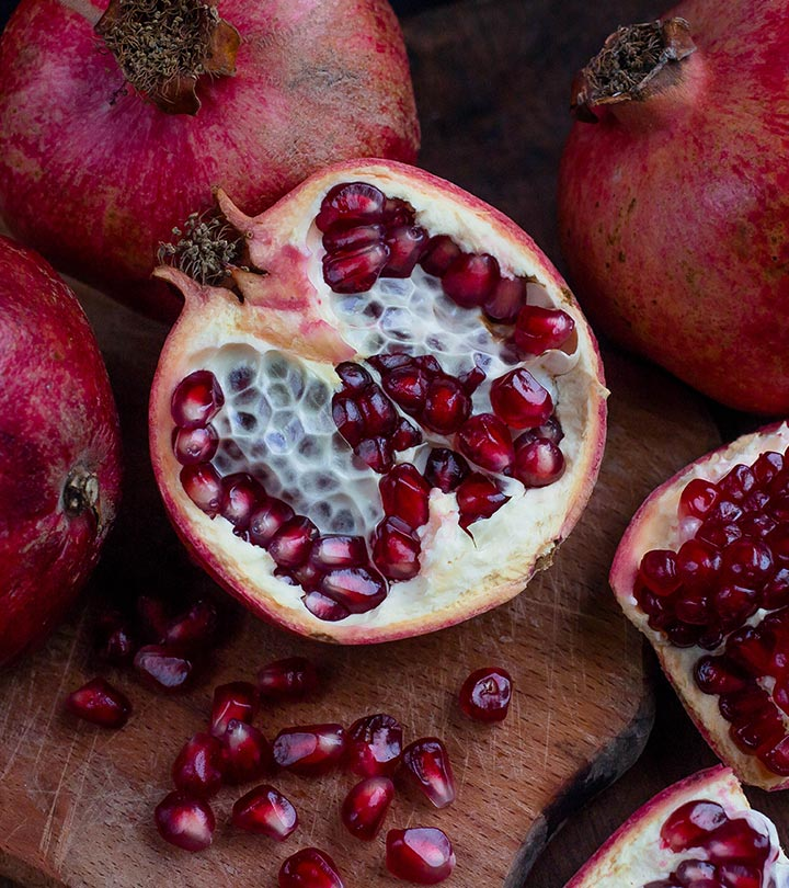 Pomegranate Benefits Uses and Side Effects