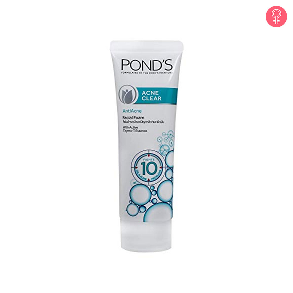 Ponds Acne Solution Anti-Acne Facial Foam