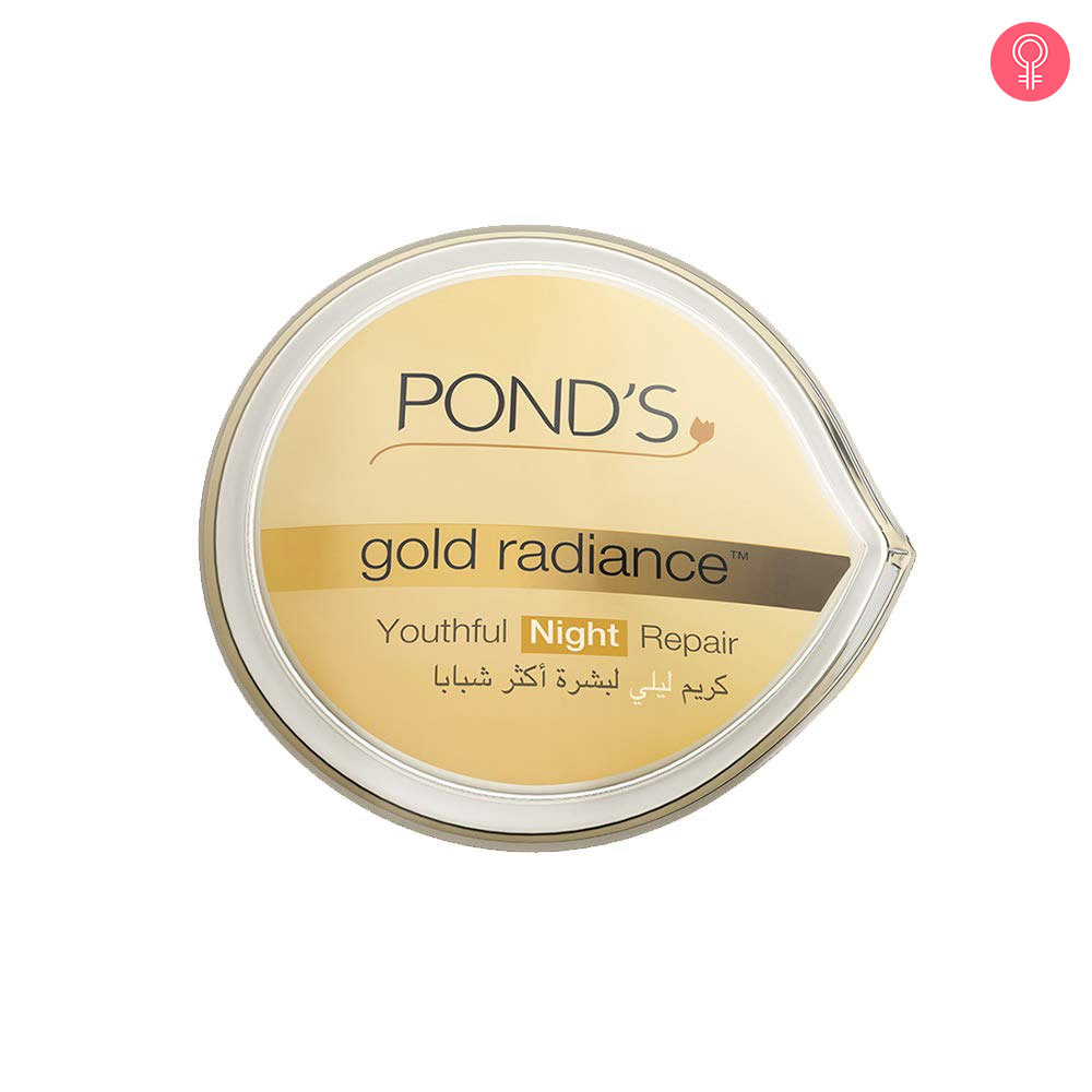 Pond's Gold Radiance Youthful Night Repair Creme