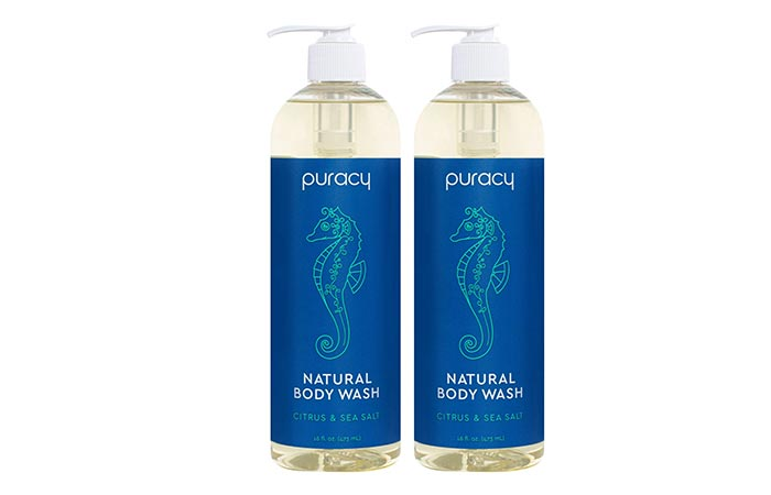 Puracy Citrus & Sea Salt Natural Body Wash