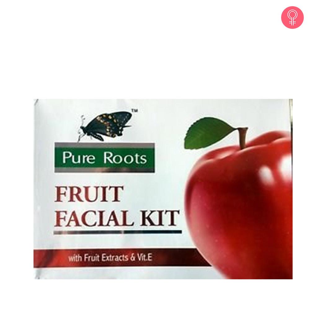 Pure Roots Fruit Facial Kit