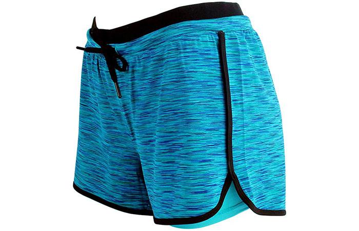RIBOOM Women's Running Shorts