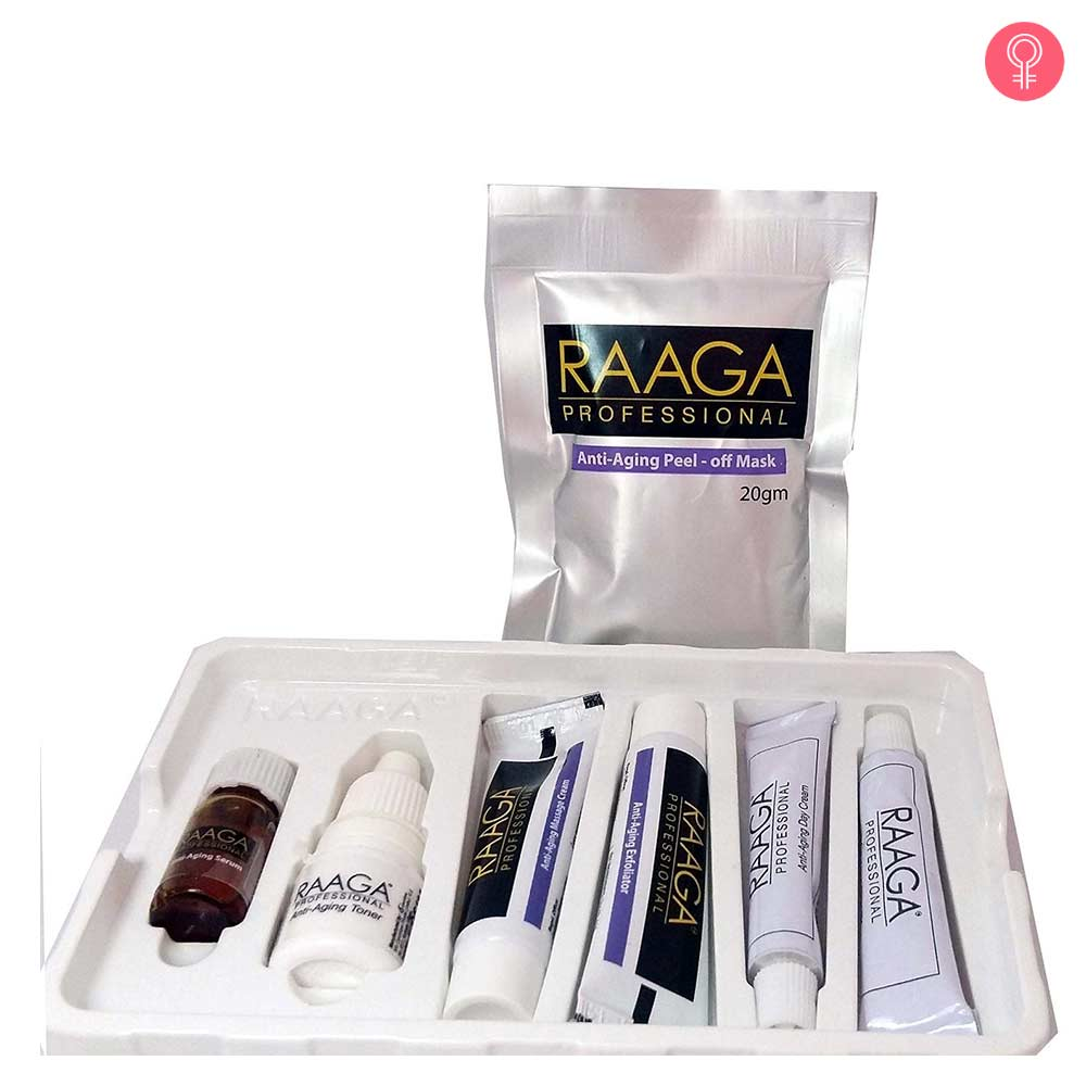 Raaga Professional Anti Ageing Facial Kit