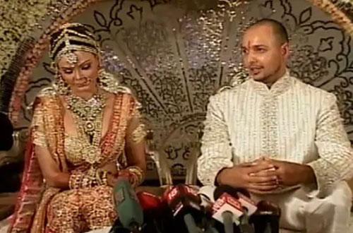 Rakhi Sawant and Elesh Parujanwala