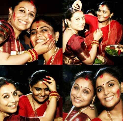 Rani Mukerji and Jyoti Mukherjee
