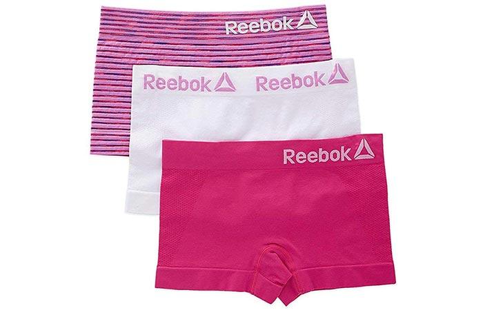 Reebok Womens Seamless Boyshort Panties