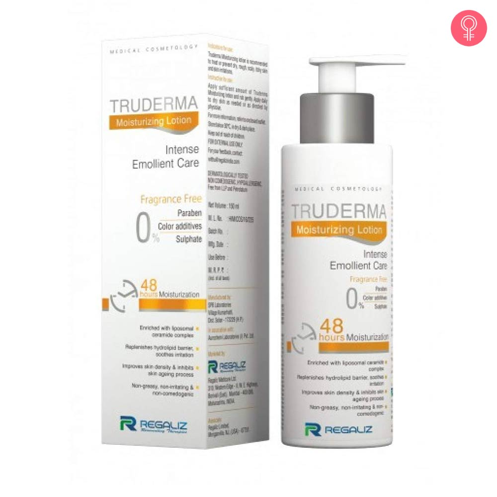 Regaliz Truderma Moisturizing Lotion