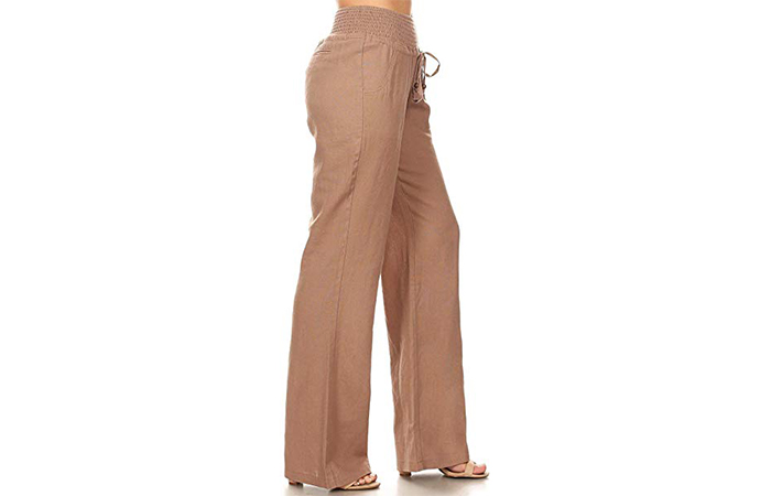 Relaxed-Fit High Waist Pants