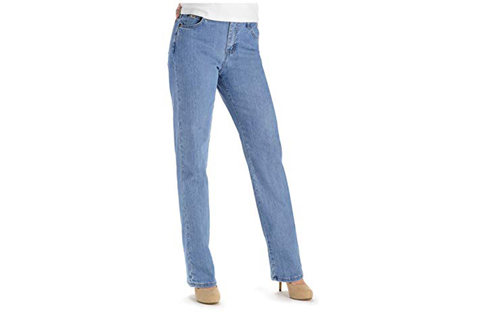 Relaxed Fit Straight Leg Jean