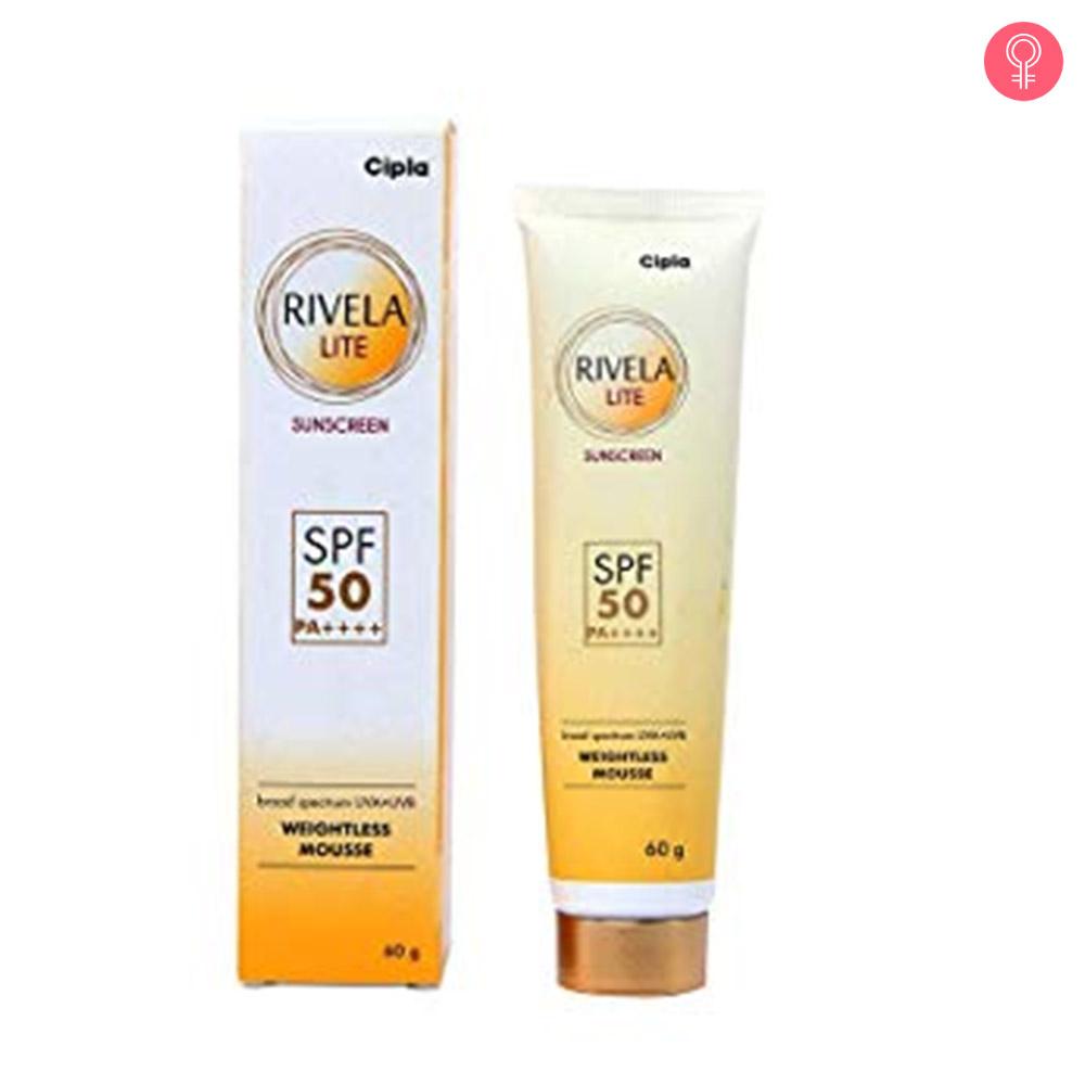 Rivela Lite Sunscreen SPF 50
