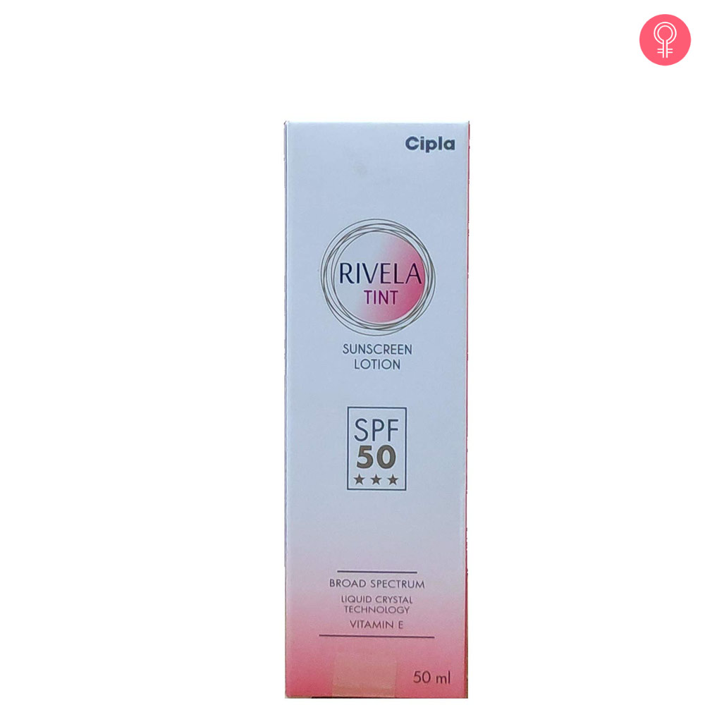Rivela Tint Sunscreen Lotion SPF 50