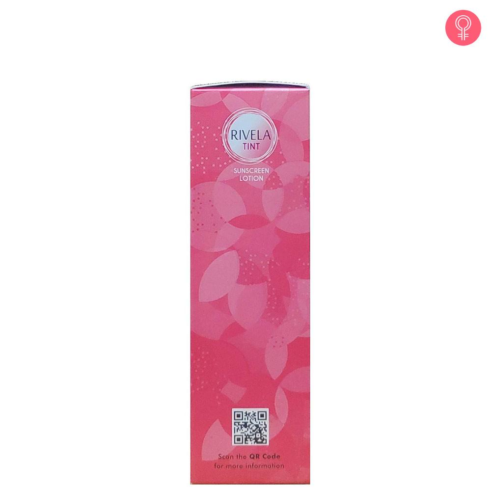 Rivela Tint Sunscreen Lotion SPF 50