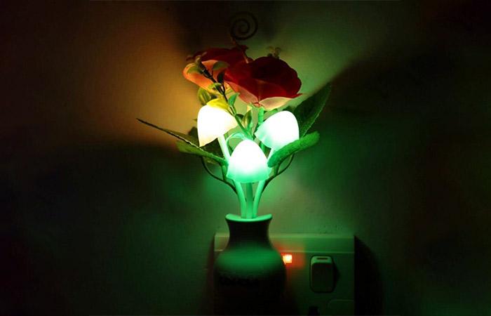 Sensor Flower Lamp