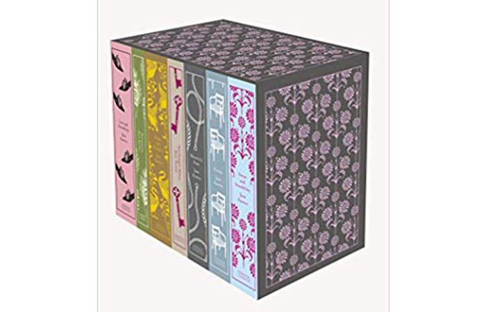 Seven-Book Set Of Complete Works Of Jane Austen