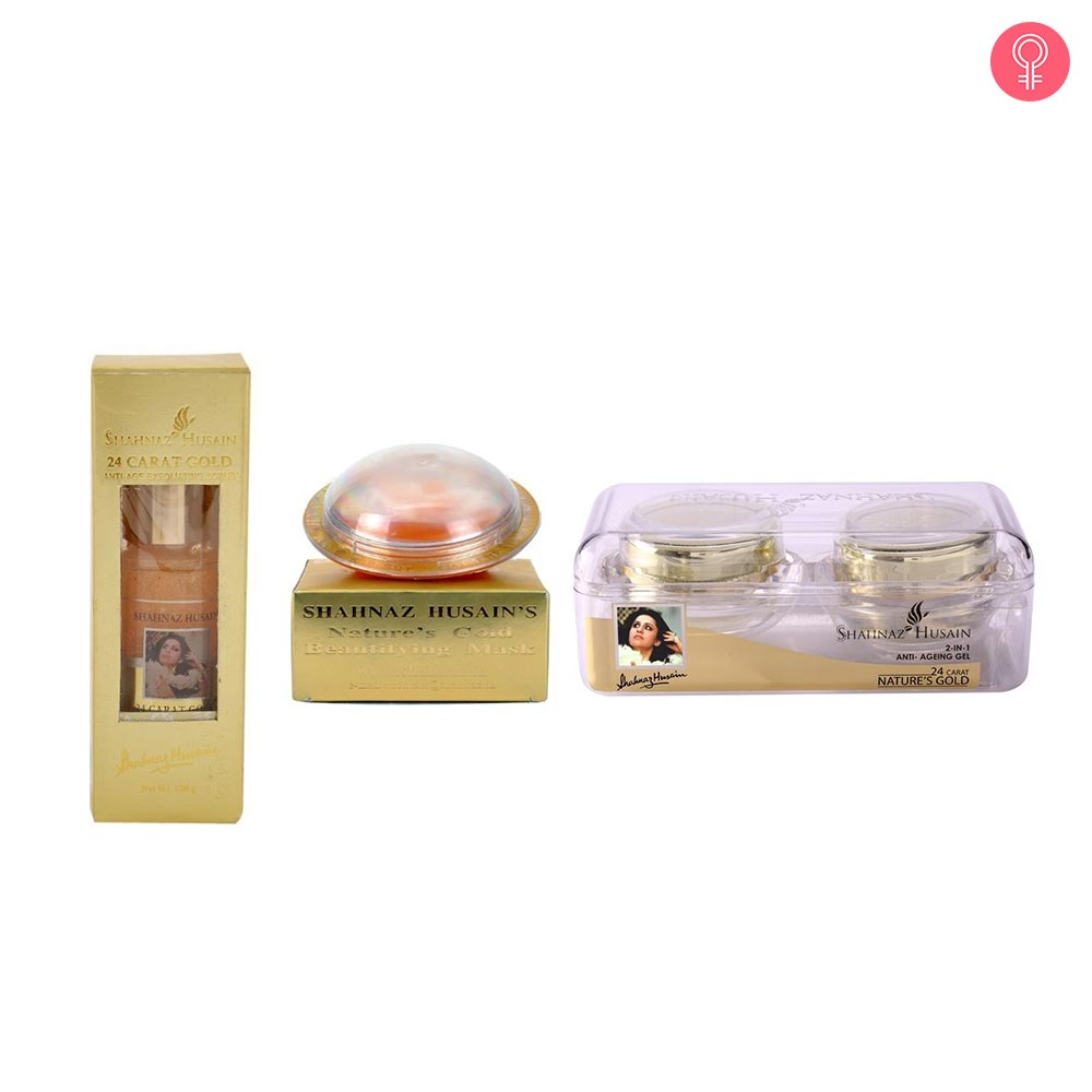 Shahnaz Husain 24 Carat Gold Facial Kit-0