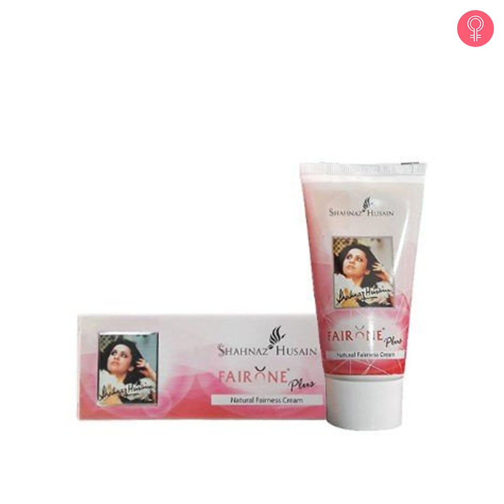 Shahnaz Husain Fair One Plus Natural Fairness Cream