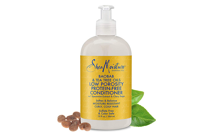 SheaMoisture Baobab and Tea Tree Oils Low Porosity Protein Free Conditioner