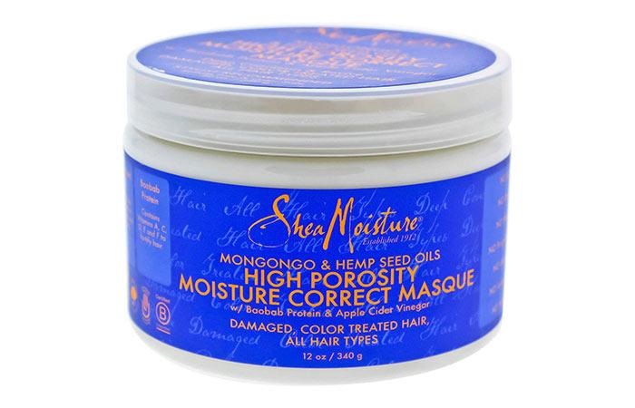 SheaMoisture High Porosity Moisture Correct Masque