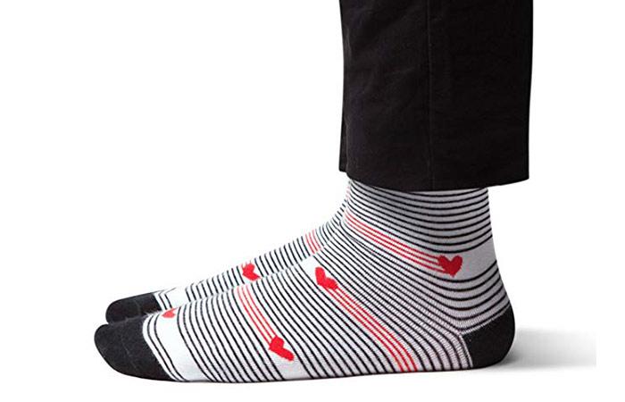 Sheec Premium Reinforced Crew-Length Men's Dress Socks