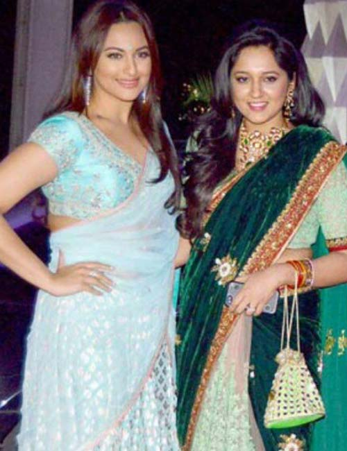 Sonakshi Sinha and Taruna Agarwal