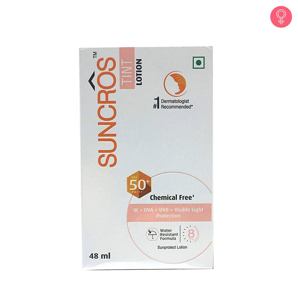 Suncros Tint Lotion SPF 50